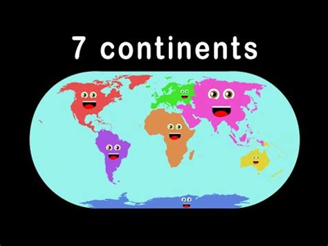 continents songseven continents song  kids youtube