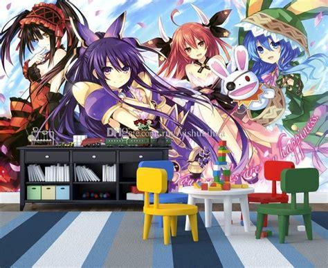 Anime Mural Wallpaper - date a live wall mural custom 3d wallpaper japanese anime
