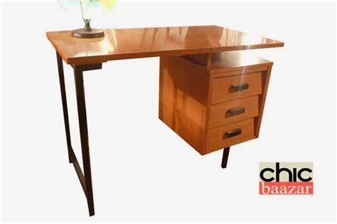 bureau guariche chicbaazar objets vintage 50 60 70 superbe bureau