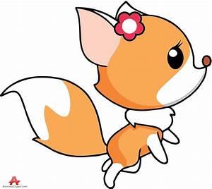 Cute Fox Clipart   Free download best Cute Fox Clipart on ...