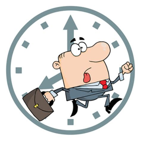 time clipart be on time clipart