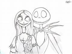 Christmas Coloring Pages  Google Search  Jack And Sally Drawing  Jack      Jack And Sally Coloring Pages