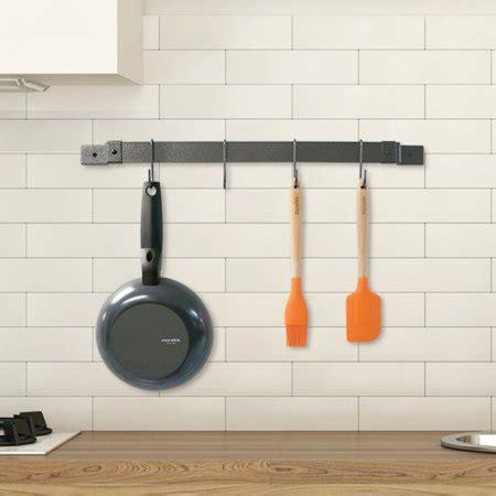 range with pot rack range kleen pot rack expanding bar grey hammered