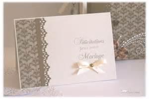 carte felicitations mariage scrapbooking carte mariage felicitation