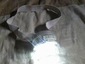 Mataram Kita  Lampu Kepala Berbahan Karet Cd Dan Botol