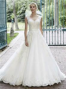 a line illusion neckline see through back lace sparkly With sparkly wedding dress