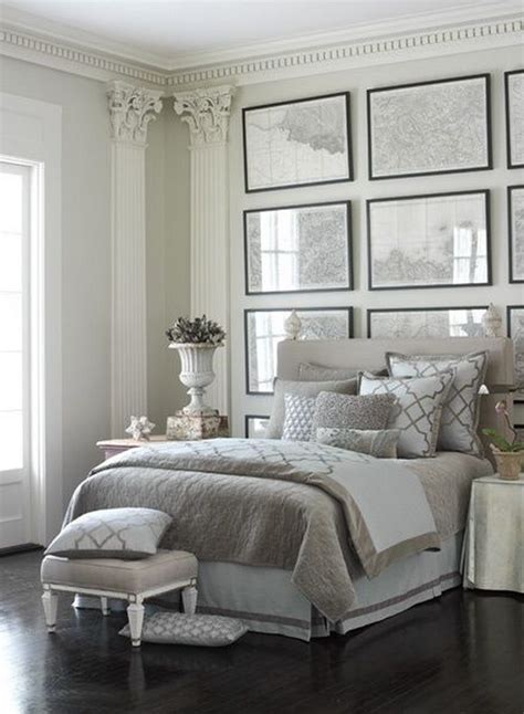 how to decorate with gray walls creative ways to make your small bedroom look bigger hative