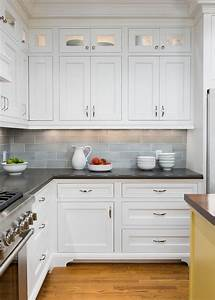 kitchen backsplash tiles ronaarmstrong hardwood custom With best brand of paint for kitchen cabinets with crystal ashley wall art