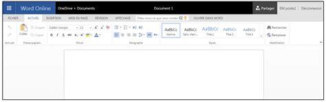 tutoriel office la suite bureautique en ligne de microsoft