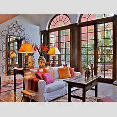 10 Spanishinspired Rooms  California Spanish Revival
