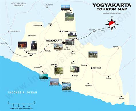 yogyakarta map jogjakarta map peta jogja peta yogya