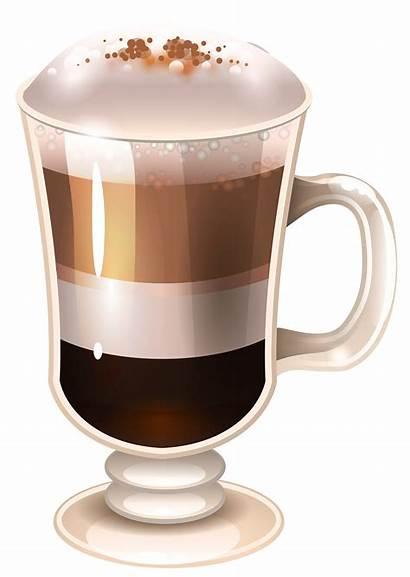 Coffee Clipart Drink Latte Mocha Transparent Drinks