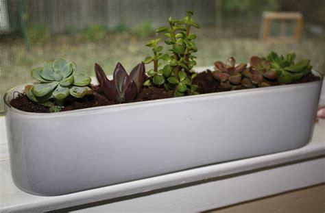 Window Sill Garden Planters by A Windowsill Garden