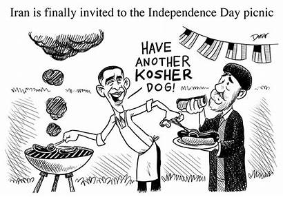 Iran Graffiti Diplomacy Political 4th July Middle