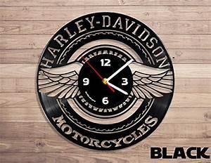 Harley Davidson Wanduhr : 110 besten uhren schallplatten bilder auf pinterest ~ Whattoseeinmadrid.com Haus und Dekorationen