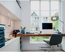 Home Modern Home Office Vancouver By Portico Design Group Modern Home Office With A Lovely View Design Jill Greaves Design Home Office Living Room Modern Home Office Modern Design In Modest Proportions