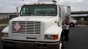 Fuel Truck 2000 International 4900 With 2800x2 Alum Tank
