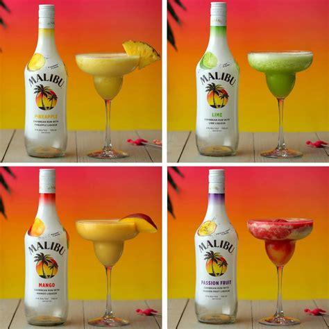 Shake and strain into a wine glass filled with crushed ice. Daiquiris 4 Ways | Fruity alcohol drinks, Daiquiri, Malibu ...