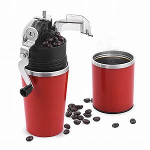 Chulux Manual Coffee Grinder Brewer For Espresso Red
