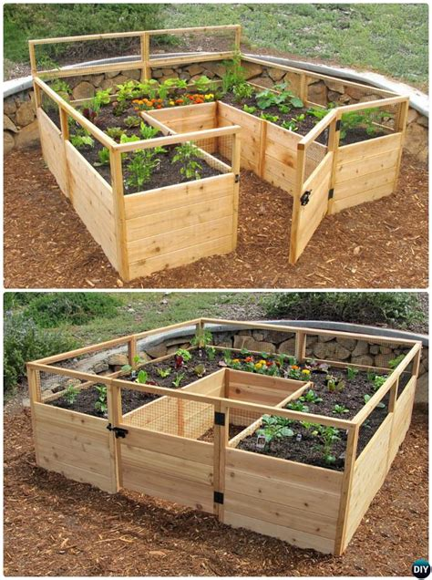 diy raised garden bed ideas free plans