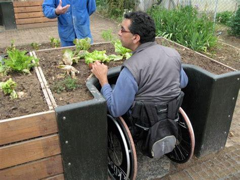 Accessible Gardening  Terraform Wheelchair Accessible