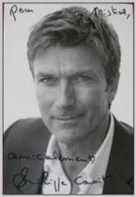 foto de Philippe Caroit Portrait of a very popular French actor