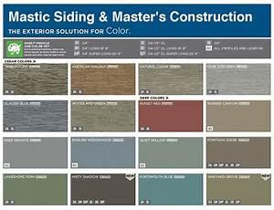 Vinyl Siding Color Chart | mastic color chart siding ...