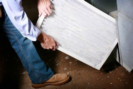 change  forced air furnace filter doityourselfcom