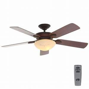 Hampton bay san lorenzo in indoor rustic ceiling fan