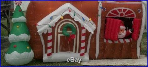 Santa Gingerbread House Inflatable Brand New Christmas Air