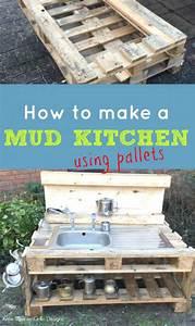 DIY Kids Mud Kitchen • Grillo Designs