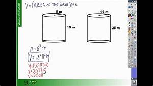 How To Find The Volume Of A Cylinder