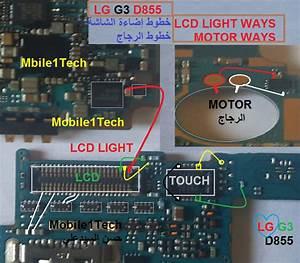 Lg G3 D855 Lcd Display Light Ic Solution Jumper Problem Ways