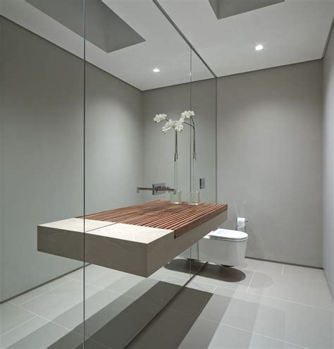 Mirrored Wall Bathroom by Bathroom Mirror Ideas Fill The Whole Wall Contemporist