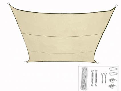 sonnensegel mit ösen sonnensegel quadrat creme 3 6m mit 214 sen f 252 r terrasse