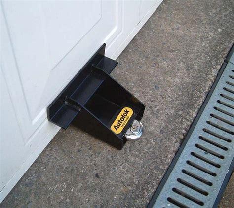 Securing Up And Garage Door by Autolok Blokka Garage Door Security Stops It From Being