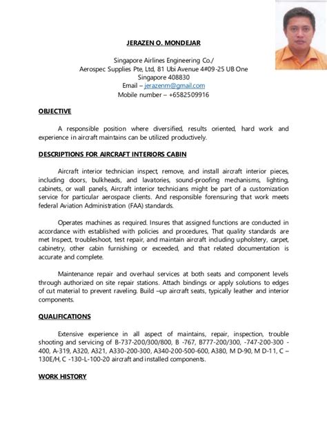 Resume For Part Time Singapore by Jeraz Cabin Resume