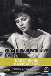 Nadja Regin - From Russia With Love and Goldfinger | Bond ...