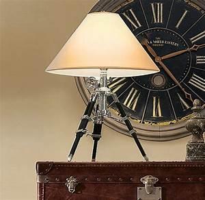 Royal marine tripod lamp for Royal marine tripod floor lamp antique brass