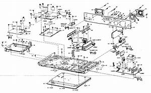 Panasonic Home Theater Cabinet Parts