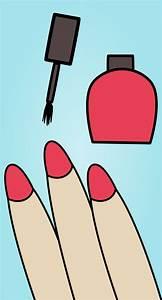 Nail Polish Vector Clipart image - Free stock photo ...