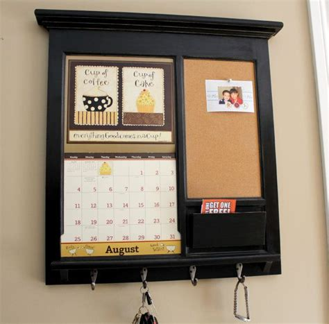 kitchen calendar organizer wall calendar frame front loading home decor framed 3307