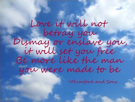mumford sons sigh no more lyrics mumford sons quote from quot sigh no more quot blue 11
