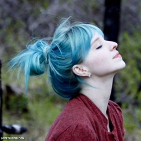 Light Blue Hair Pictures, Photos, And Images For Facebook