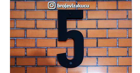 Kućni broj 5 - Kućni Brojevi - Kućni Broj - Brojevi/oznake ...