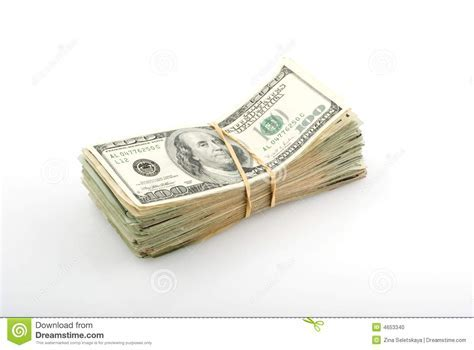 Stack of money stock photo Image of heap buying