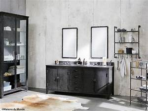 chantier salle de bain industrielle With salle de bain industrielle