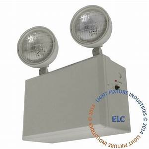 Remote Capable Emergency Exit Light Heavy Duty 12 Volt 100