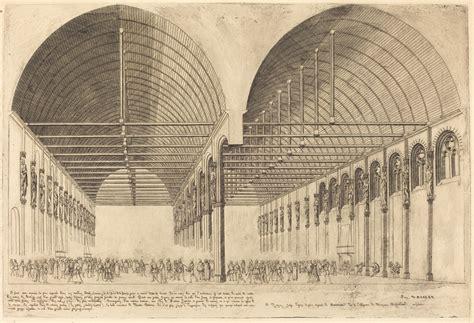 charles meryon la salle des pas perdus 224 l ancien palais de justice the antechamber of