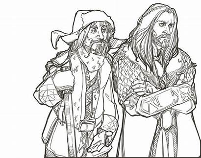 Coloring Hobbit Pages Colouring Printable Lord Rings